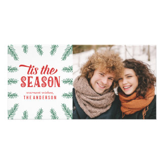 Winter Pine | Holiday Custom Photo Card
