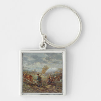 Winter Ploughing Key Ring