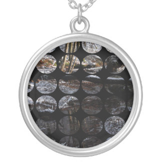 Winter Polka Dots Forest Brook Necklaces