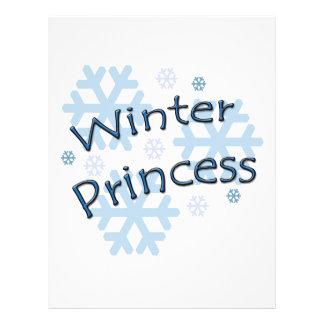 Winter Princess Flyer Design