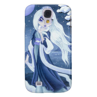 Winter Princess in Snow for I-Phone 3 Galaxy S4 Case