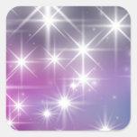 Winter, Purple, Lilac , White Lights, Sparkles Stickers