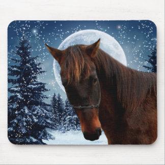 Winter Quarter Horse Mousepad