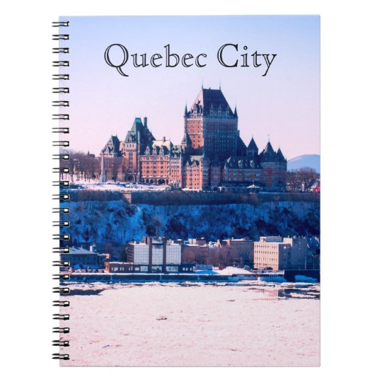 Winter | Quebec City Spiral Notebook