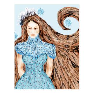 Winter Queen Postcard