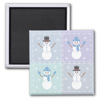 Winter Quilt Magnet