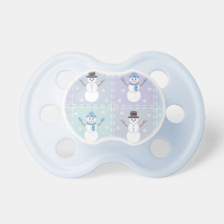 Winter Quilt Pacifier