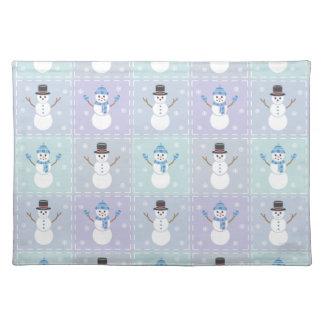 Winter Quilt Place Mat