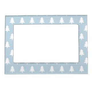 Winter Rabbit Pattern Magnetic Frame