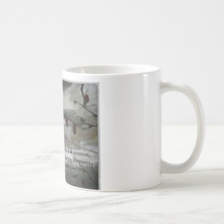 Winter Red Berries & Aesop Kindness Quote Mugs