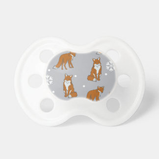 Winter Red Foxes Pattern Dummy