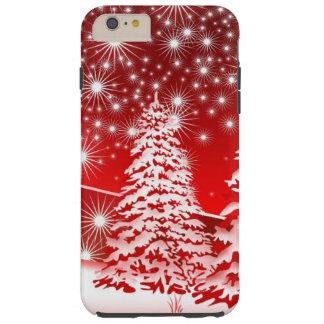 Winter Red Tough iPhone 6 Plus Case