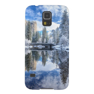 Winter Reflection at Yosemite Galaxy S5 Covers