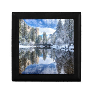 Winter Reflection at Yosemite Gift Box