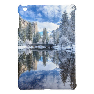 Winter Reflection at Yosemite iPad Mini Cover