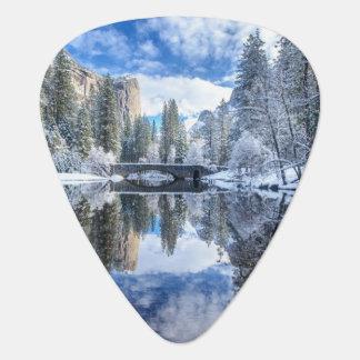 Winter Reflection at Yosemite Plectrum