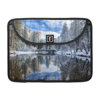 Winter Reflection at Yosemite Sleeve For MacBooks
