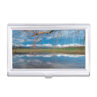 Winter Reflections. Ceres, Boland District Business Card Holder