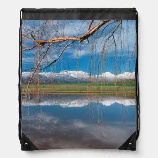 Winter Reflections. Ceres, Boland District Drawstring Bag
