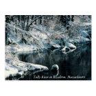 Winter Reflections Royalston, Massachusetts Postcard