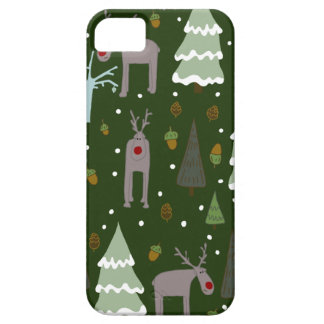 Winter Reindeer Barely There iPhone 5 Case