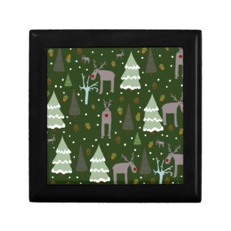 Winter Reindeer Gift Box