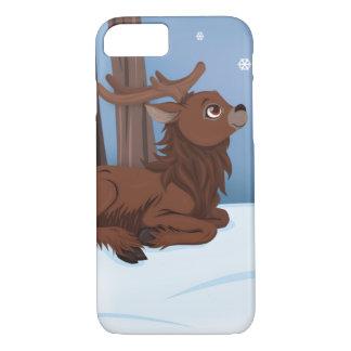 Winter Reindeer iPhone 7 Case
