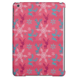 Winter Reindeer Pattern Case For iPad Air