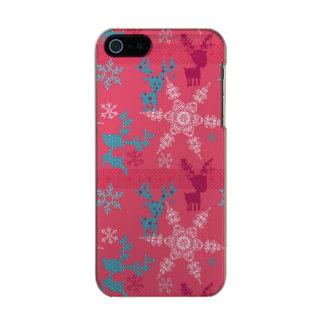 Winter Reindeer Pattern Incipio Feather® Shine iPhone 5 Case