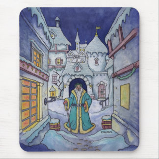 winter returns holiday mousepad