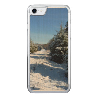 Winter Road Carved iPhone 8/7 Case