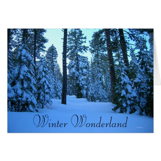 Winter Road to Hager Mountain Fire Lookout Card