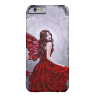 Winter Rose Butterfly Fairy iPhone 6 Case