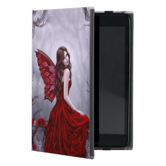 Winter Rose Fairy Art iPad Mini Case