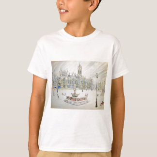 Winter scene at Albert Square T-Shirt