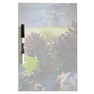 Winter Scene Dry Erase Board
