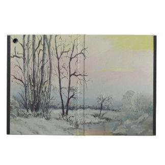 winter scene I-pad case iPad Air Cover
