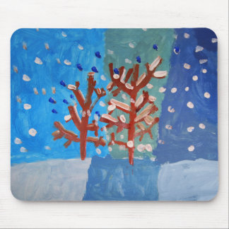 Winter Scene Mouse Pads