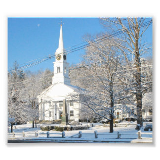 Winter Scene Sterling,Ma Photo