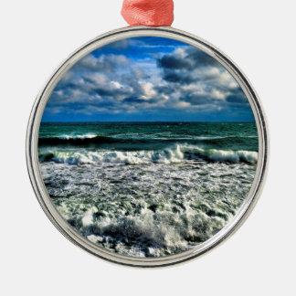 Winter Sea Christmas Ornament