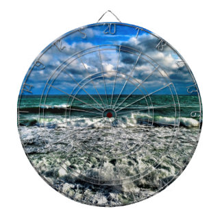 Winter Sea Dartboard