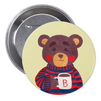 Winter Season is Coming (Bear Edition) Pinback Buttons