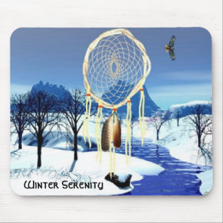 Winter Serenity Mouse Mat