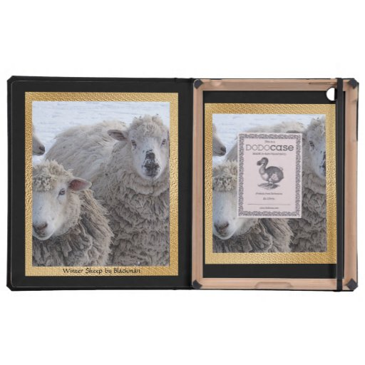 Winter Sheep Cases For iPad