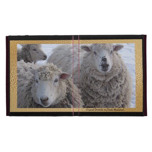 Winter Sheep iPad Cases