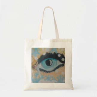 Winter shopper tote bag