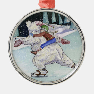 Winter Skate Ornament