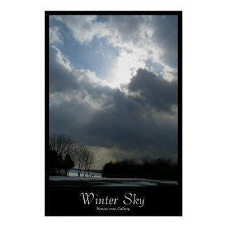 Winter Sky Poster