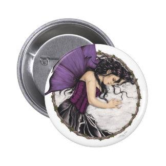 Winter Sleep Fairy Button