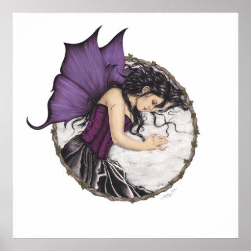 Winter Sleep Fairy Poster